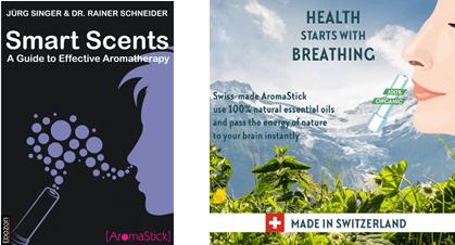 专访瑞士AromaStick芳香疗法指导书籍Smart Scents《灵动香分子》作者(图1)