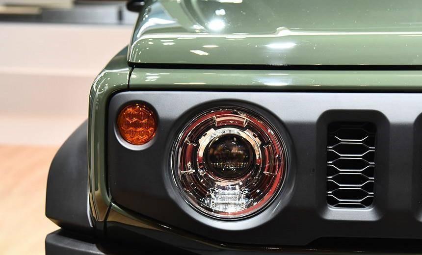 原创新铃木Jimny来了!1.5L爆炸到120马力,气田不丢BJ40,不装。