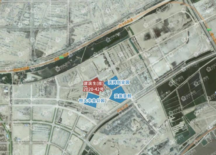 中新生态城宅地挂牌 楼面价4千余元 紧邻恒大