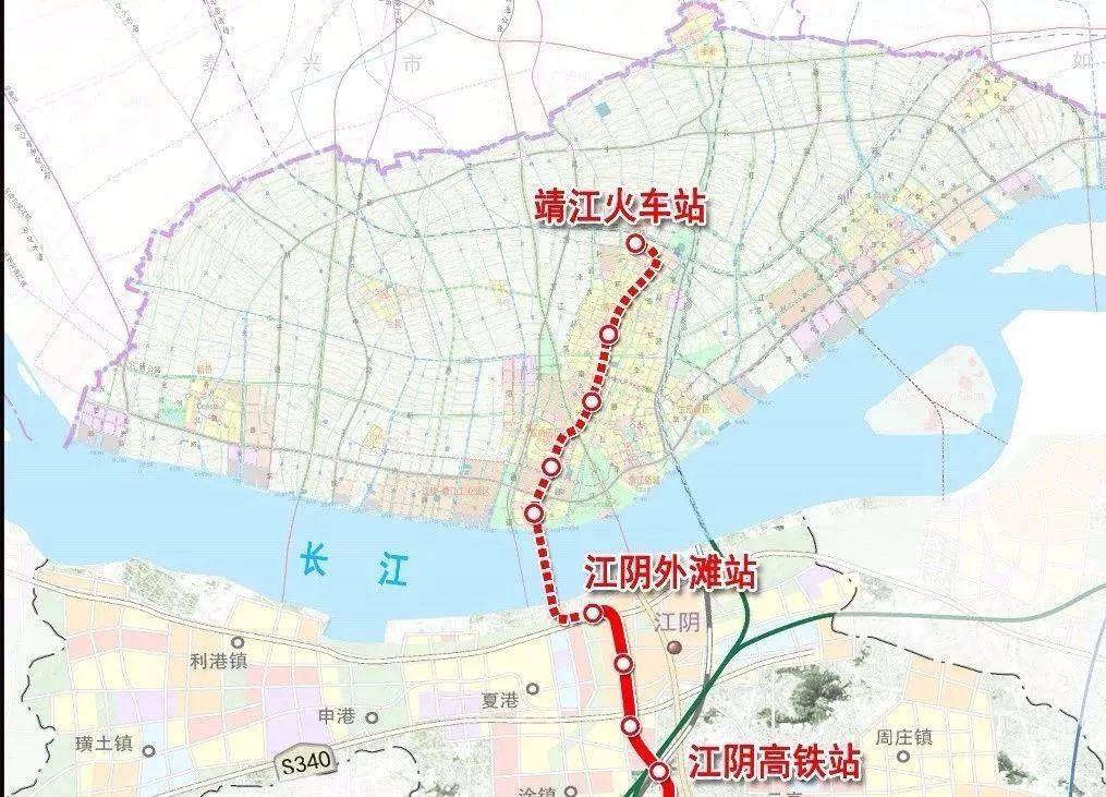 靖江市规划图高清