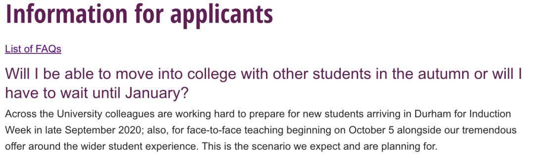 曼大、爱丁堡等英国各大院校最新开学和课程安排(持续更新中)