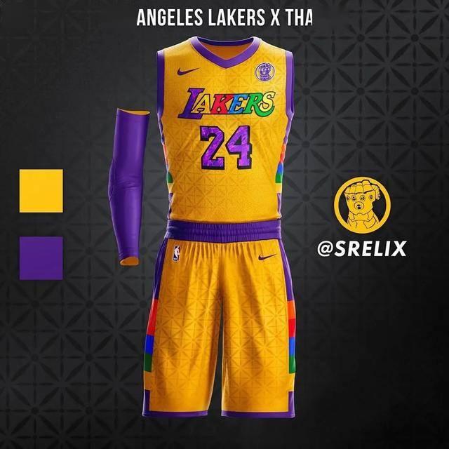 """当NBA球衣变成""""超级英雄""""版:湖人灭霸太酷,"""