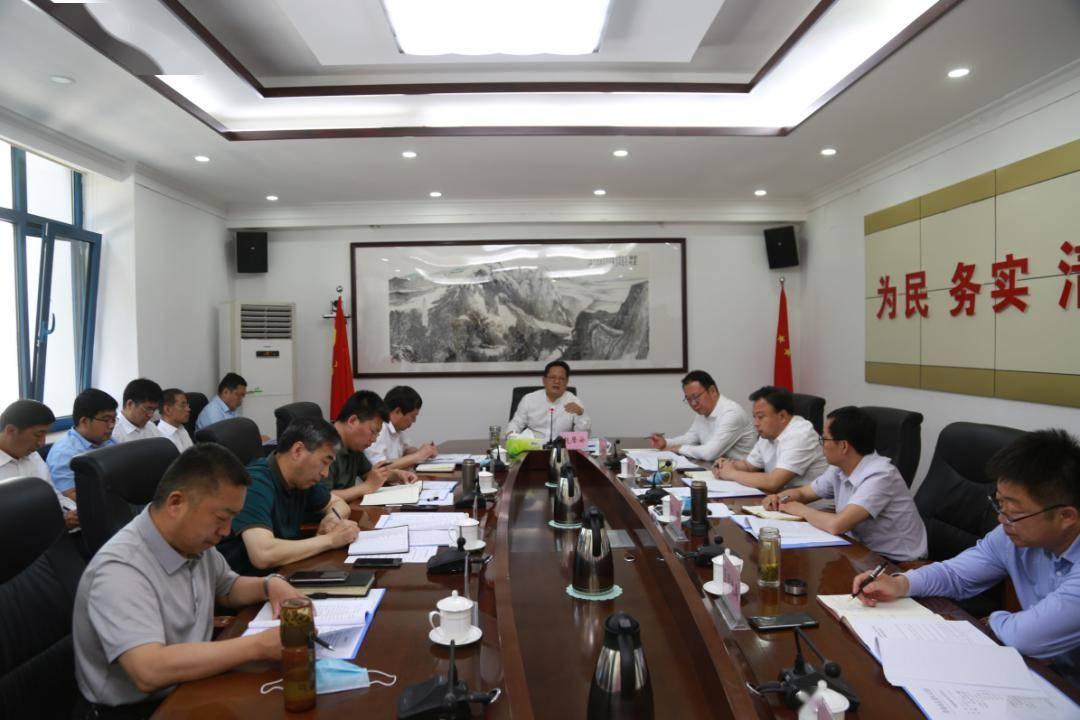 【时政报道】赵居安主持召开区政府第56次常务会议