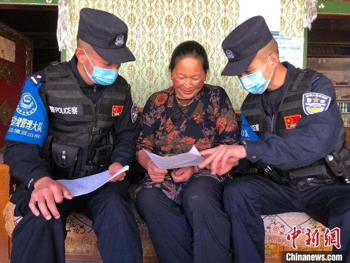 西藏移民管理警察的抗疫故事