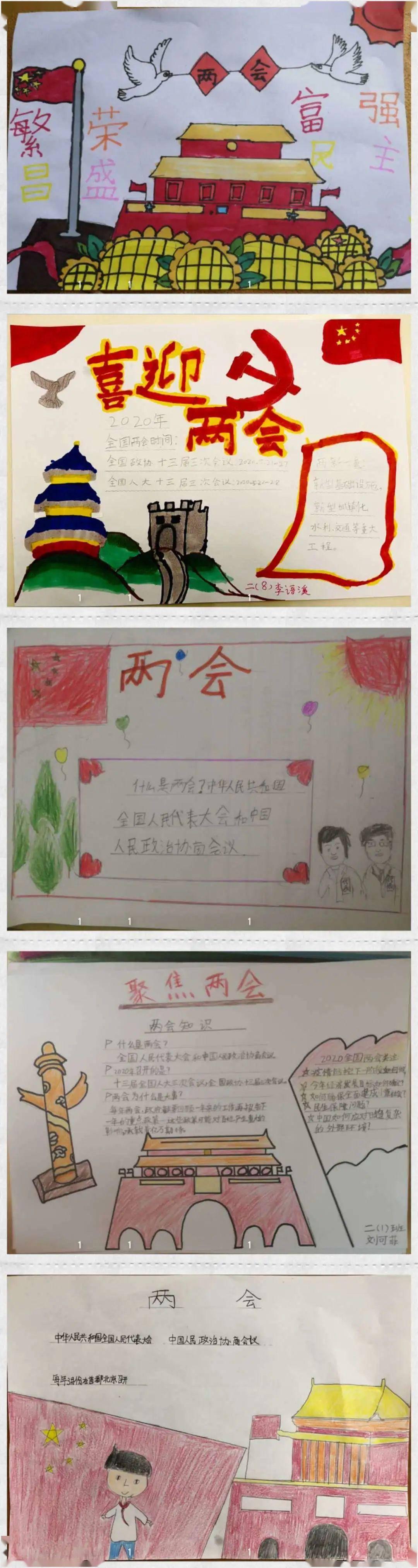 """对两会的感想_童心向党 喜迎两会——我校小学开展""""两会""""主题教育活动_中国"""