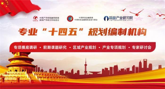 前瞻产业研究院:城市及县域国民经济和社会发展十四五规划纲要框架要点