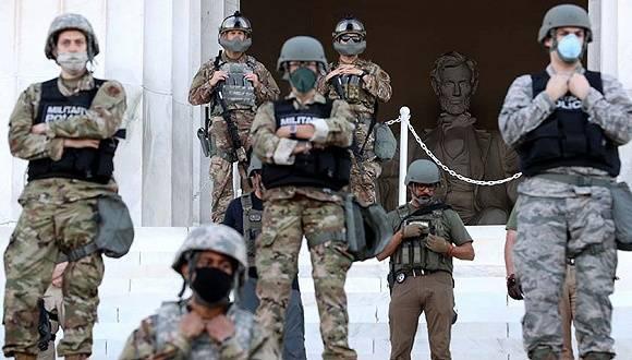 全美骚乱第12天:首都市长加入抗议,白宫曾想部署上万美军平乱