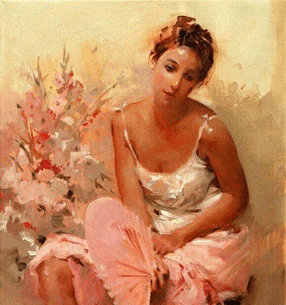 色彩是人体油画灵魂,也是人体油画艺术的魅力所在