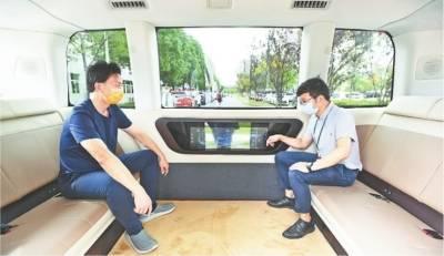我国首款L4级5G自动驾驶汽车在汉量产_Sharing-VAN