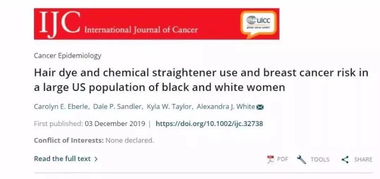 8年,5万人研究证实:染发更易增加患乳腺癌风险!