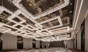 上海青浦铂尔曼酒店照明设计