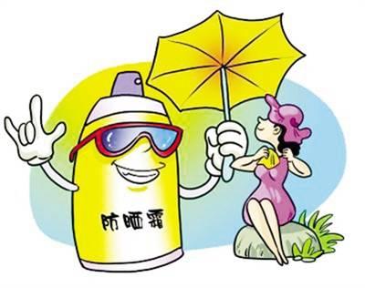 天气越来越热,不少人出门前都会擦涂防晒霜,但你知道吗,如果防晒霜涂图片