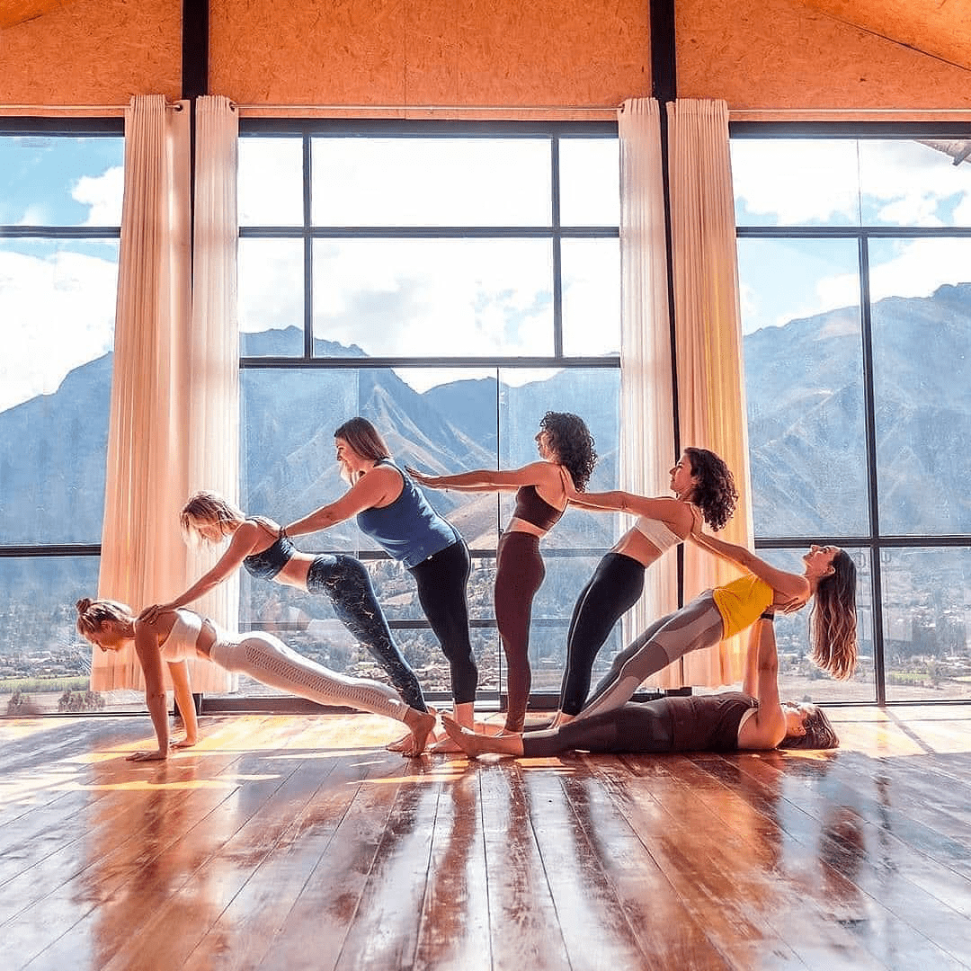 不知道双人瑜伽照怎么拍?收藏这篇文章就够啦! 减肥窍门 第1张