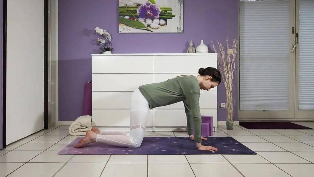 """""""筋长一寸寿延十年"""",10个拉伸瑜伽体式在家练,超舒服!_身体 高级健身 第5张"""