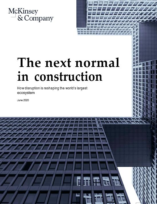 麦肯锡深度解析建筑业发展趋势