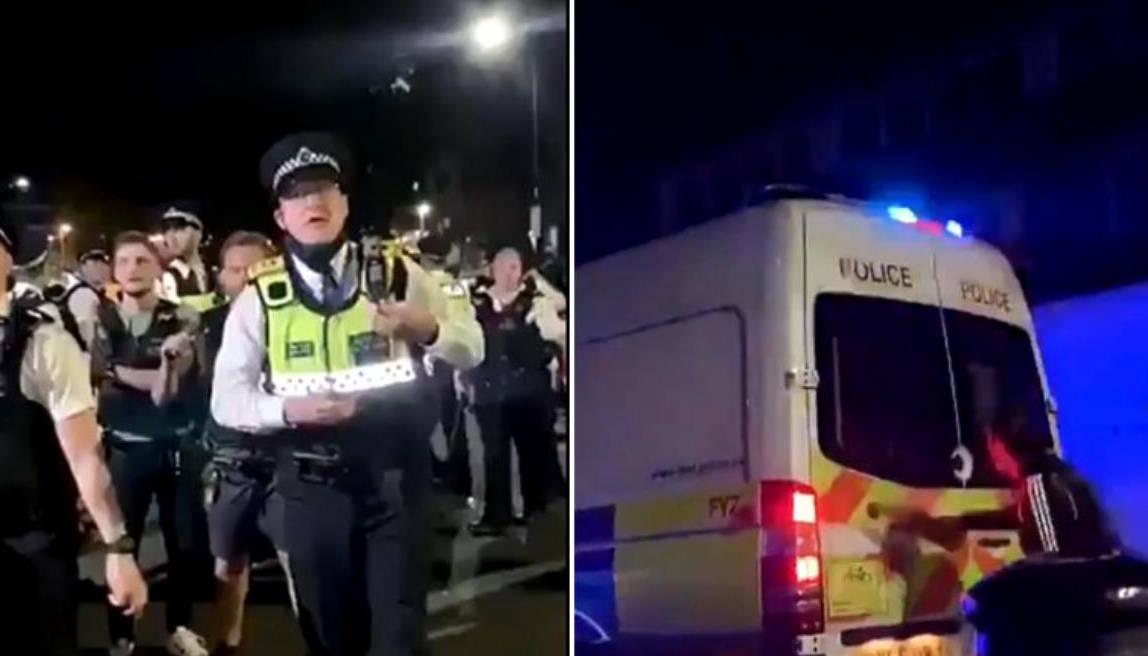 封锁太久英国兴起地下派对,警察驱散人群反被打伤 国内新闻 第2张