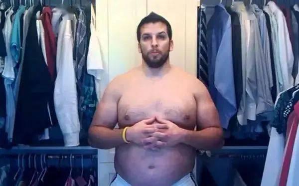 从肌肉男到死胖子,再从死胖子到肌肉男!看完你就知道减肥有多难了! 中级健身 第11张