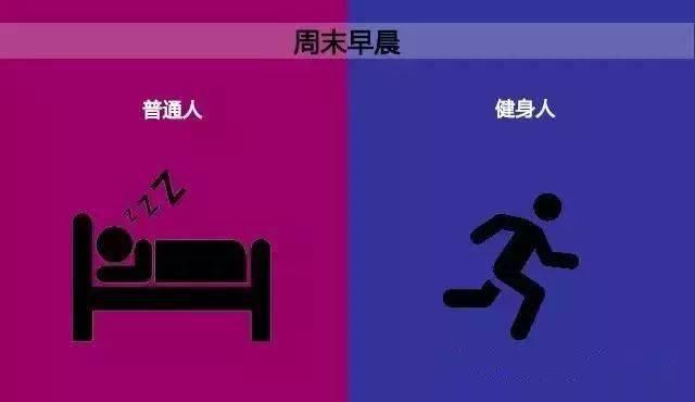 10张图告诉你,运动和不运动的区别! 中级健身 第2张