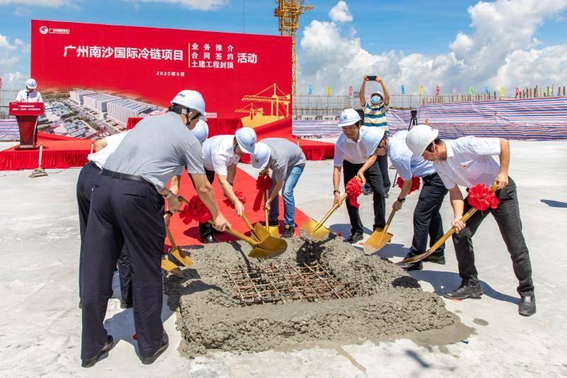 投资35亿元!广州南沙国际冷链项目将于2021年初投产