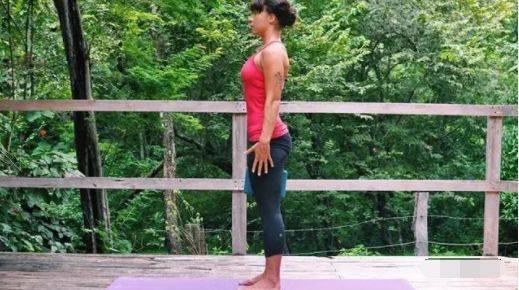 如何在瑜伽站立体式中找到稳定?(干货) 减肥窍门 第1张