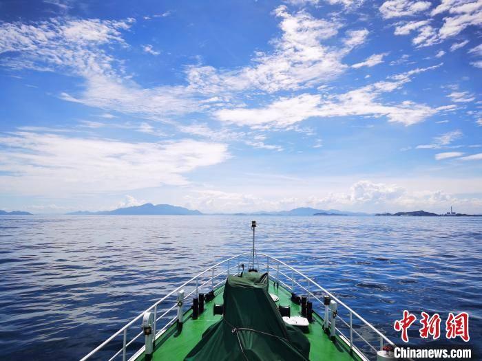 广东海洋综合执法总队惠州支队开展领海基点执法巡查