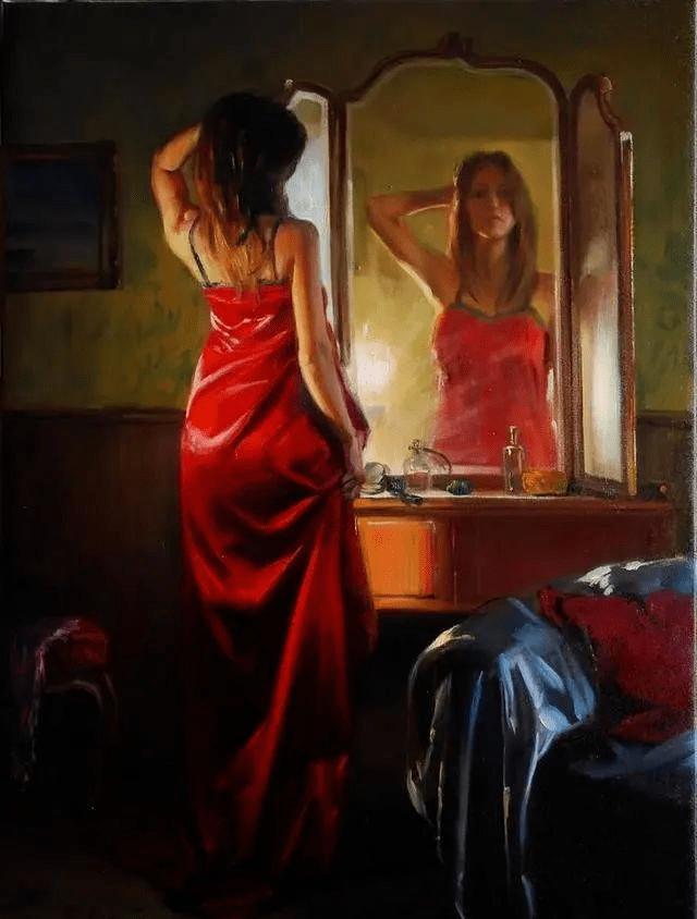 人体艺术——匈牙利画家人体油画中性感绝伦的美人们