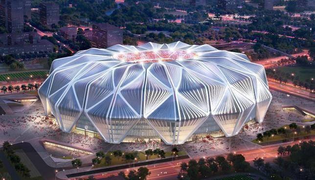 全票通过!广州恒大足球场设计方案震撼亮相