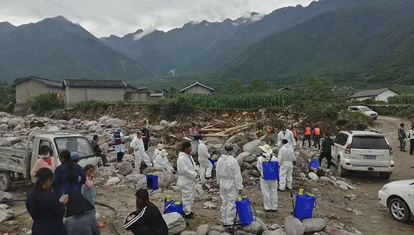 【图集】 暴雨过凉山|冕宁山洪灾害现场