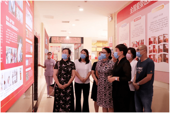 市妇联主席张丽娟一行调研周口妇产医院