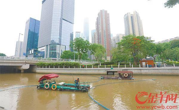 """广州探索治水新路径:一年""""洗河""""千余条""""洗""""出4万余吨垃圾"""