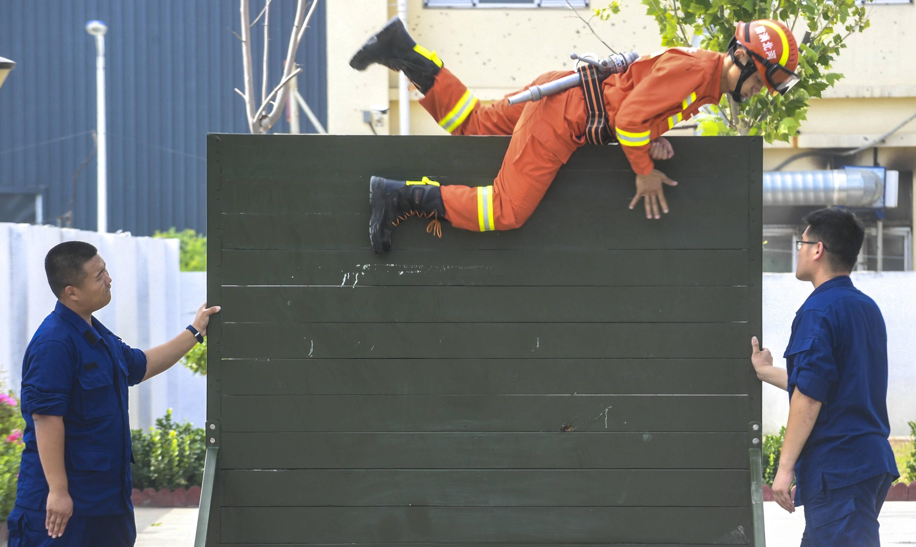 应急|暑期大练兵消防保平安