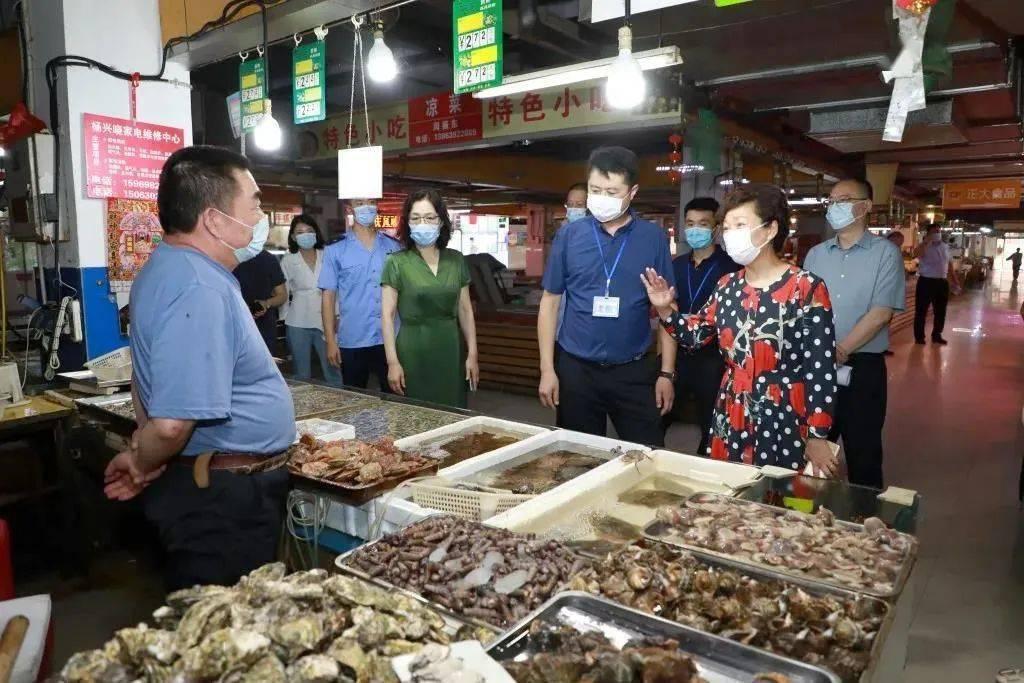 【时政要闻】副市长栾新到崂山区检查农贸市场安全生产工作
