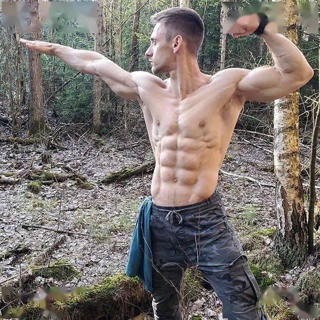 这是你喜欢的肌肉体格吗?