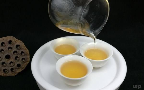 夏天气温高,喝热茶可以快速解暑,你知