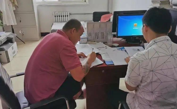 大城网信办依法采访了两家非法网站的辛勤工作人员,网站予以关注。