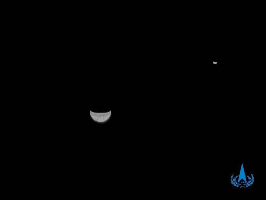 """""""地月合影""""揭秘!120万公里外的太空笑脸是这样拍成的"""