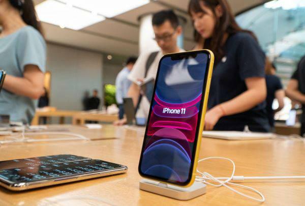 数据显示:苹果手机二季度在华销量大增