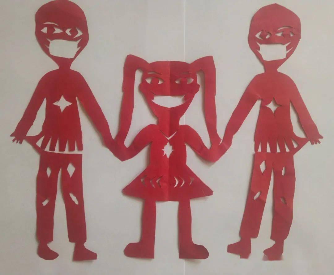 """一组质朴绚丽的剪纸--""""新乡市卫滨区八里营小学"""