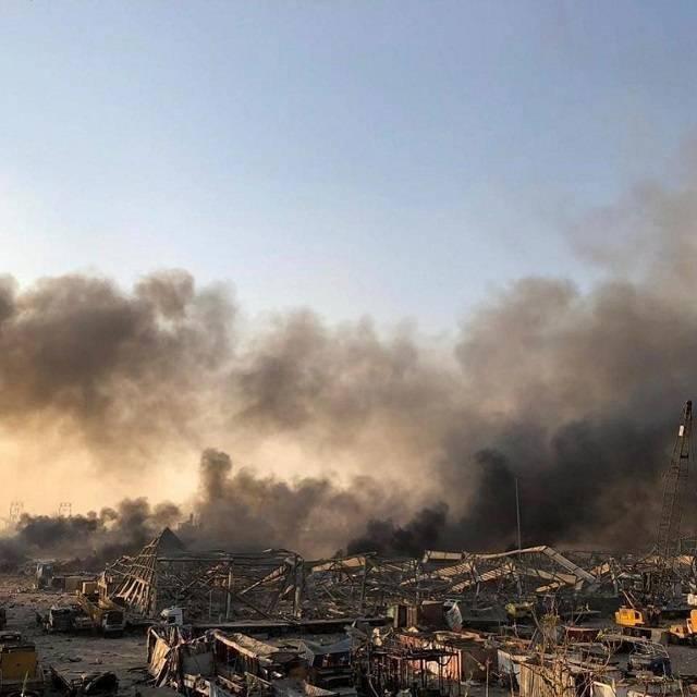 黎巴嫩首都發生爆炸 爆炸已致70余人死亡