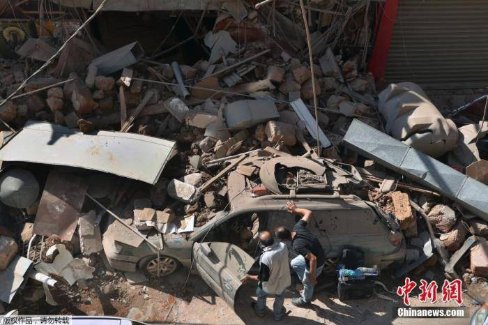 黎巴嫩|大爆炸后30万人或缺粮无房!黎巴嫩至暗时刻,多国伸援手