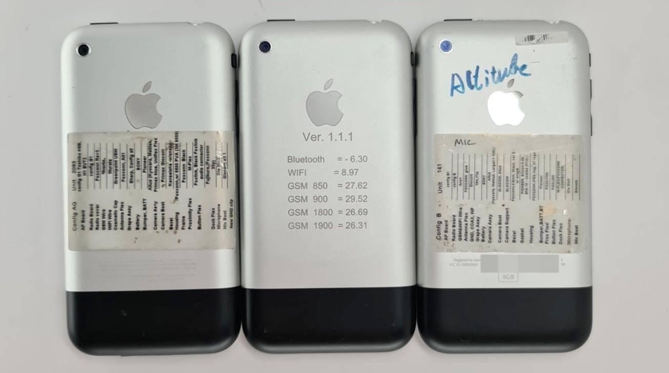 初代iPhone原型机曝光:显示不同设计的静音开关