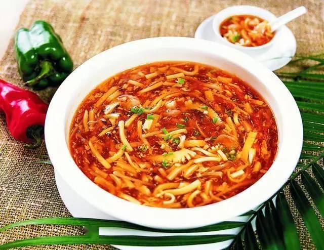 简单版酸辣汤,开胃助消化,喝完热乎乎的!