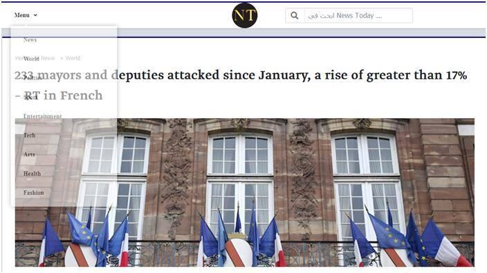 持续增加!法国今年已有233位市长遭遇袭击_中欧新闻_欧洲中文网