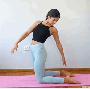 7个简单的瑜伽动作,缓解坐骨神经痛,效果杠杠滴!