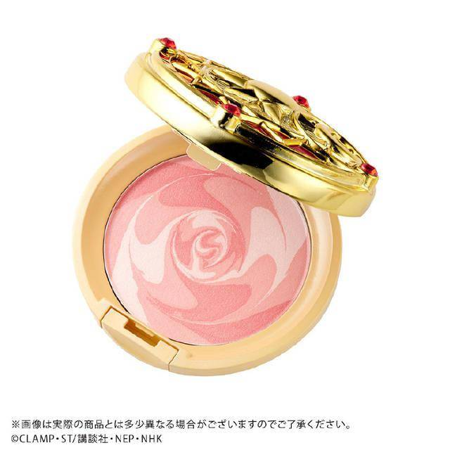「魔卡少女樱」系列彩妆产品新品登场