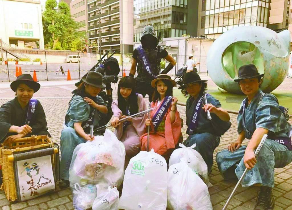 【举世时报驻日本特约记者 日本 垃圾桶