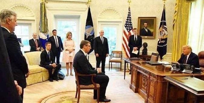 白宫那张小椅子,武契奇回应了