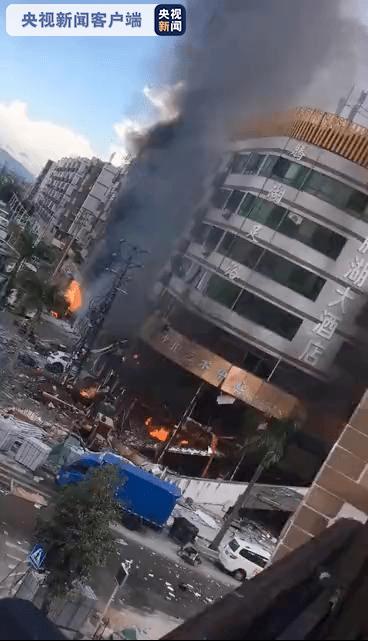 突发!珠海一酒店附近发生煤气爆炸!