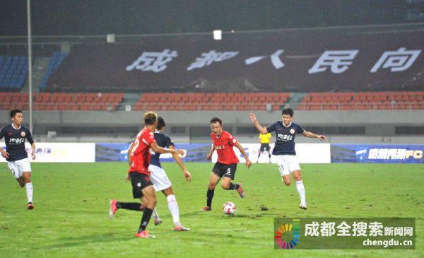 中甲联赛蓉城揭幕 成都兴城3:2北京人和取得开门红