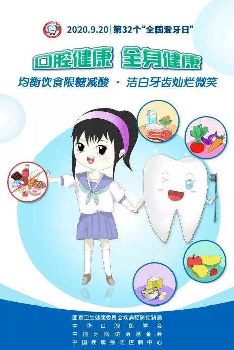 【健康教育】全国爱牙日来到,牙齿健康要关照